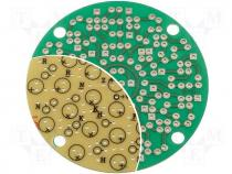 PC-13 - Board universal single sided round prototyping board 60mm