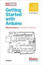 B000001 - Getting started with arduino 2nd ed book