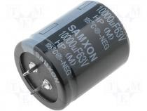 HP10000/63 - Capacitor electrolytic THT 10mF 63V O35x40mm ±20% 2000h