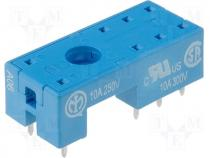 95.15.2 - Relays accessories socket Mounting PCB Leads for PCB IP20