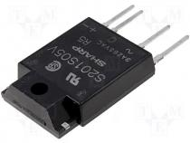 S201S05V - Relay solid state Icntrl max 15mA 3A max600VAC SIP4