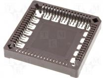 Βάση IC SMD - Socket PLCC PIN 68 SMD phosphor bronze tinned 1A