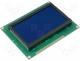 RG12864A-BIY-V - Display LCD graphical STN Negative 128x64 blue 93x70x13.6mm