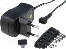 Pwr sup.unit  switched-mode, 0.6A, Plug  EU, 90÷264VAC, Case  plug