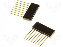 Arduino - Socket headers In the set 2 header strips H 14.5mm PIN 6