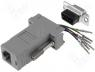 ADPT-RJ45/9F - Adapter D Sub 9pin socket  RJ45 socket configurable