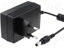 GS36E12-P1J - Pwr sup.unit pulse 12V Out 5,5/2,1 3A 36W Plug EU 79x54x33mm