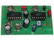 ZSM-19 - Circuit do-it-yourself kit sound effects generator 5VDC