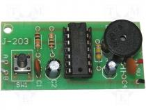 ZSM-203 - Circuit do-it-yourself kit humidity sensor 9VDC
