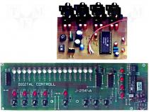 ZSM-254 - Circuit do-it-yourself kit preamplifier 12VDC