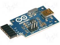 A000059 - Extension module USB-RS232 uC ATMEGA8U2 UART No.of diodes 3