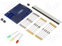 A000083 - PROTO KIT REV3 - Extension module prototype board UART No.of diodes 3