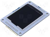 A000096 - Extension module LCD display SPI pin strips