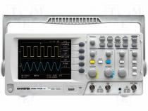 GDS-1052-U - Oscilloscope digital Band ≤50MHz Channels 2 4kpts/ch