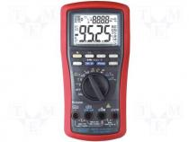 BM525 - Digital multimeter LCD (9999) Bargraph 41segm.60x/s 5x/s