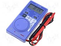 DM-1016 - Digital multimeter LCD 3,5 digit (3200) V DC 300m÷450V
