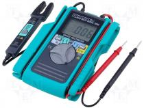 KT2000 - Digital multimeter LCD 3,5 digit (3999) 2,5x/s I DC 0,1÷60A