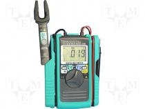 KT2001 - Digital multimeter LCD 3,5 digit (3999) 2,5x/s I DC 0,1÷100A