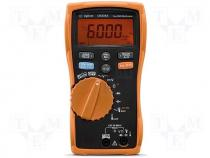Digital multimeter LCD (6600) V DC 600m/6/60/600V