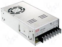 SP-240-5 - Pwr sup.unit pulse, 225W, 5VDC, 45A, 88÷264VAC, 124÷370VDC, 800g