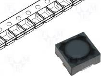 DE0703-680 - Inductor wire, 680uH, 0.19A, 5.73Ω, SMD, 7.3x7.3x3.2mm, ±20%