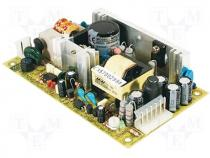 MPS-45-15 - Pwr sup.unit pulse, 45W, 127÷370VDC, 90÷264VAC, Outputs 3, 15VDC