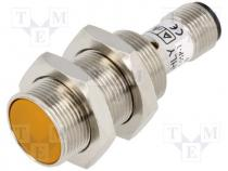 CS18-05N-1 - Sensor inductive, Output conf NPN / NO, 0÷5mm, 10÷30VDC, M18