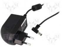 ZSI12/2A/CN - Pwr sup.unit switched-mode, 12V, Out 5,5/2,1, 2A, 24W, Plug EU