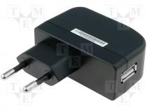 ZSI5/1.2-USB - Pwr sup.unit switched-mode, 5V, Out USB, 1.2A, 6W, Plug EU