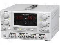 TP-4305 - Pwr sup.unit laboratory, Channels 4, 0÷30VDC, 0÷30VDC, 8÷15VDC