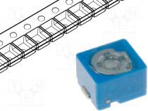 Trimmer ceramic, 2pF÷6pF, SMD, blue, 100VDC