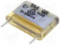 MP3-Y2-3N3 - Capacitor paper, Y2,suppression capacitor, 3.3nF, 10mm, ±20%