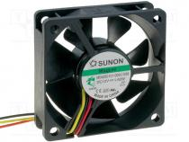 MB60201V1-G99 - Fan DC, axial, 12VDC, 60x60x20mm, 39.08m3/h, 33.5dBA, Vapo, 26AWG