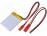 Rechargeable battery  Li-Po, 3.7V, 320mAh, Leads  cables