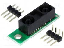 POLOLU-2474 - Sensor  distance, 5VDC, Application  GP2Y0A60SZLF, infrared