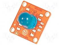 T010115 - Extension module, LED diode 10mm blue, 3pin