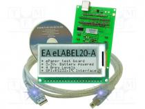 EAEVALELABEL20 - Display accessories  development kit