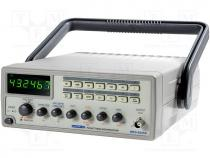 MFG-8255A-1 - Generator  function, LED 6 digits, Frequency meter 0.5÷5MHz