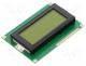 RC1604A-YHY-ESX - Display  LCD, alphanumeric, STN Positive, 16x4, green, LED, PIN 16