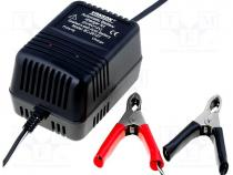 CHB600 - Charger  for rechargeable batteries, acid-lead, 600mA, Plug  EU