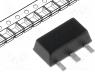 L79L05ABU - Voltage stabiliser, fixed, -5V, 0.1A, SOT89, SMD, Package  tape