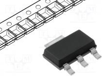 LD1117S50CTR - Voltage stabiliser, LDO, fixed, 5V, 0.95A, SOT223, SMD