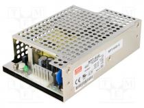 Pwr sup.unit  switched-mode, 66W, 127÷370VDC, 90÷264VAC, 24VDC