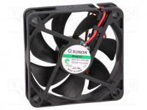 Ανεμιστήρας DC - Fan  DC, axial, 24VDC, 60x60x15mm, 42.81m3/h, 36.2dBA, Vapo, 26AWG