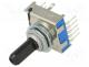 SR17A1620F69N - Switch  rotary, 6-position, 0.3A/16VDC, Poles number 1, 30°