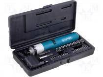 GT-312B - Battery powered screwdriver with accessories