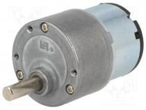 SF-ROB-12262 - Motor  DC, with gearbox, 3÷12VDC, 1000 1, 3rpm, max.7.78Nm, 500mA