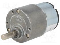 SF-ROB-12154 - Motor  DC, with gearbox, 3÷12VDC, 1500 1, 2rpm, max.10.57Nm, 500mA