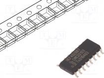 TTL-Cmos - IC  digital, BCD to decimal, decoder, CMOS, SMD, SO16