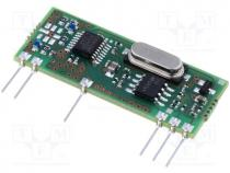 RX-8ML5/F - Module  RF, AM receiver, AM, ASK, 868.3MHz, -113dBm, 5VDC, 10mA